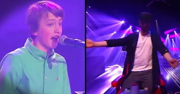 Young Boy Has All The Judges Dancing With 'Great Balls Of Fires'