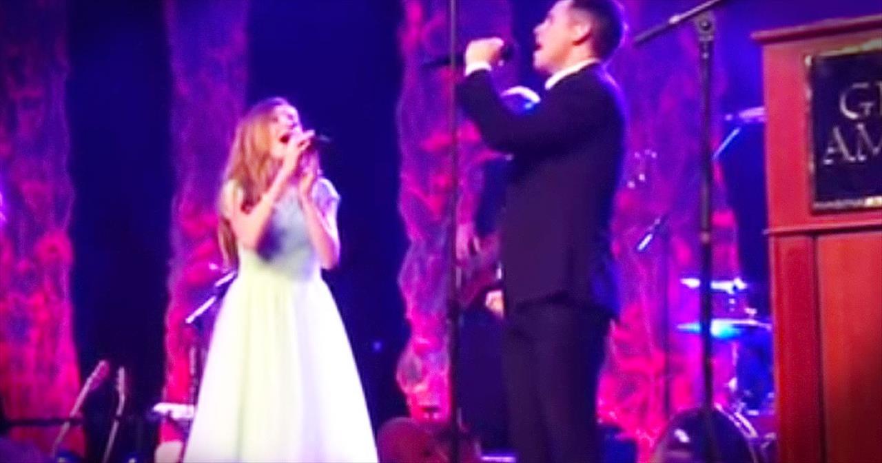 Lexi Walker And David Archuleta Sing Beautiful Version Of 'The Prayer'