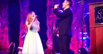 Lexi Walker And David Archuleta Sing Beautiful Version Of 'The Prayer'