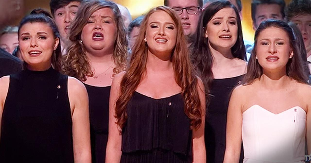 165-Piece Welsh Choir Sings Chilling Version Of 'Hallelujah'