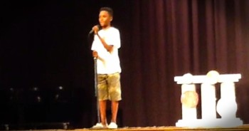 11-Year-Old Earns Standing Ovation With 'I Will Always Love You'