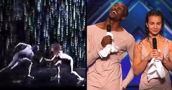 Emotional Dancing Duo Earns Highest Honor From THIS Unlikely Judge