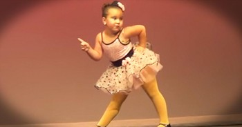 Sassy Little Dancer Channels Aretha Franklin