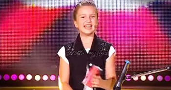 11-Year-Old's Brilliant Cup Song Left The Judges In AWE