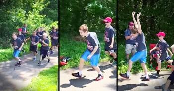Classmates Help Boy With Autism Win His 1st Race