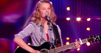 14-Year-Old Plays Guitar And Covers Dolly Parton Classic