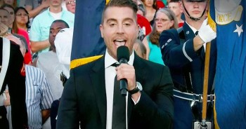 American Idol Winner Nick Fradiani Sings 'The National Anthem'