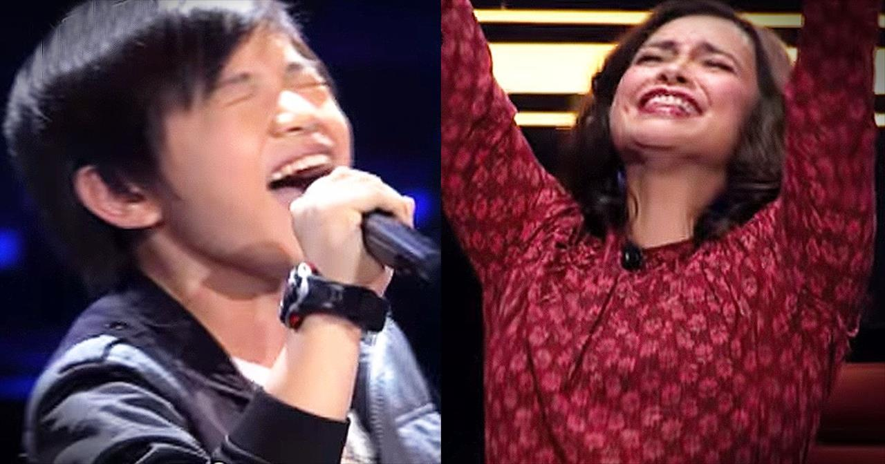 Young Boy THRILLS All The Judges With This Classic Tune