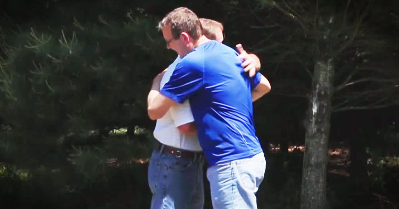 Preacher Hugs Man Who Killed His Father