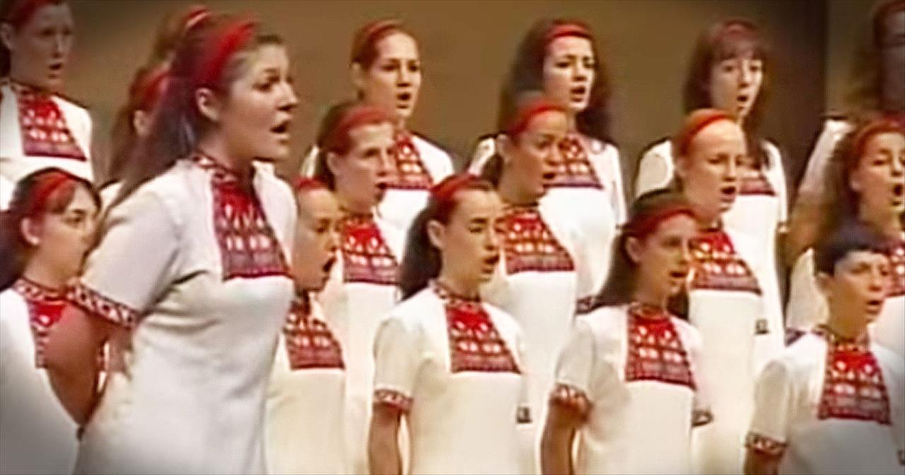 Bulgarian Folk Song Will Give You Straight Chills