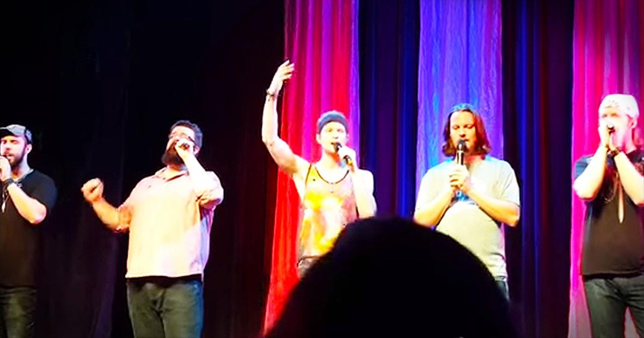 A Cappella Version Of 'God Bless The USA' From Home Free Will AMAZE You!