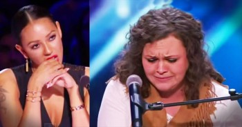 Nervous Singer Stops Her Audition. But What Happens Next…WOW!