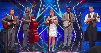 Bluegrass-Playing Tire Company Workers Blow The Judges Away!