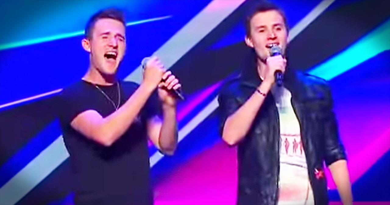 Twin Brothers Who Lost Their Parents STUN Judges With Beautiful Duet