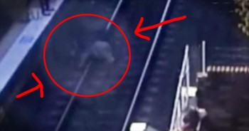 Grandpa Jumps In Front Of Train To Save 18-Month-Old