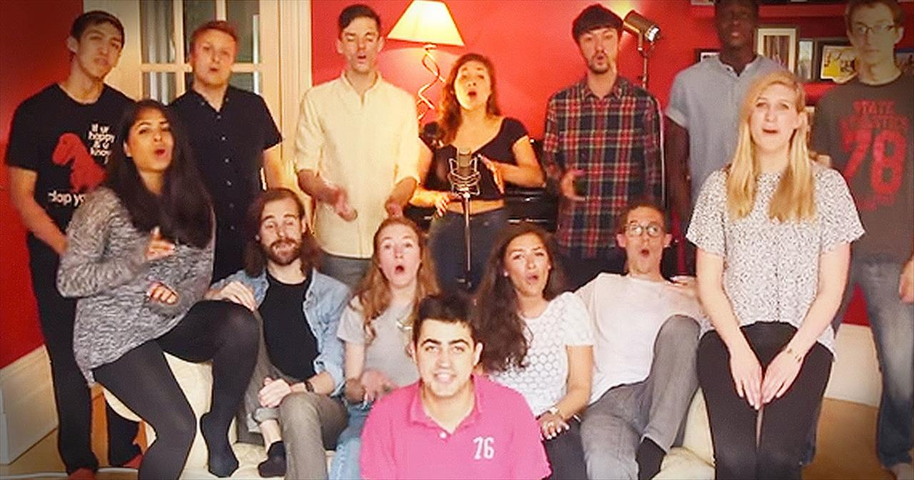 Amazing A Cappella Group Performs 'Midnight Train To Georgia'