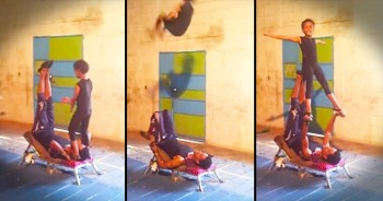 Children's Acrobatic Moves Will Leave Your Jaw On The FLOOR!