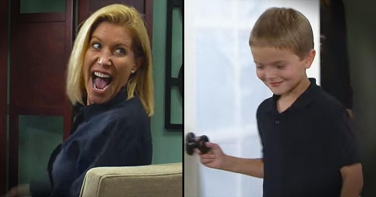 Mother Hears Her 8-Year-Old Son's Voice For The First Time