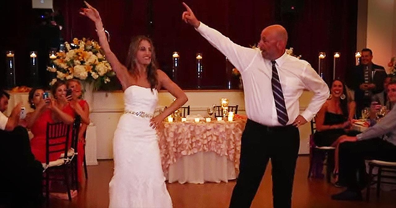 Sweet Father-Daughter Dance Turns Into EPIC Surprise Performance