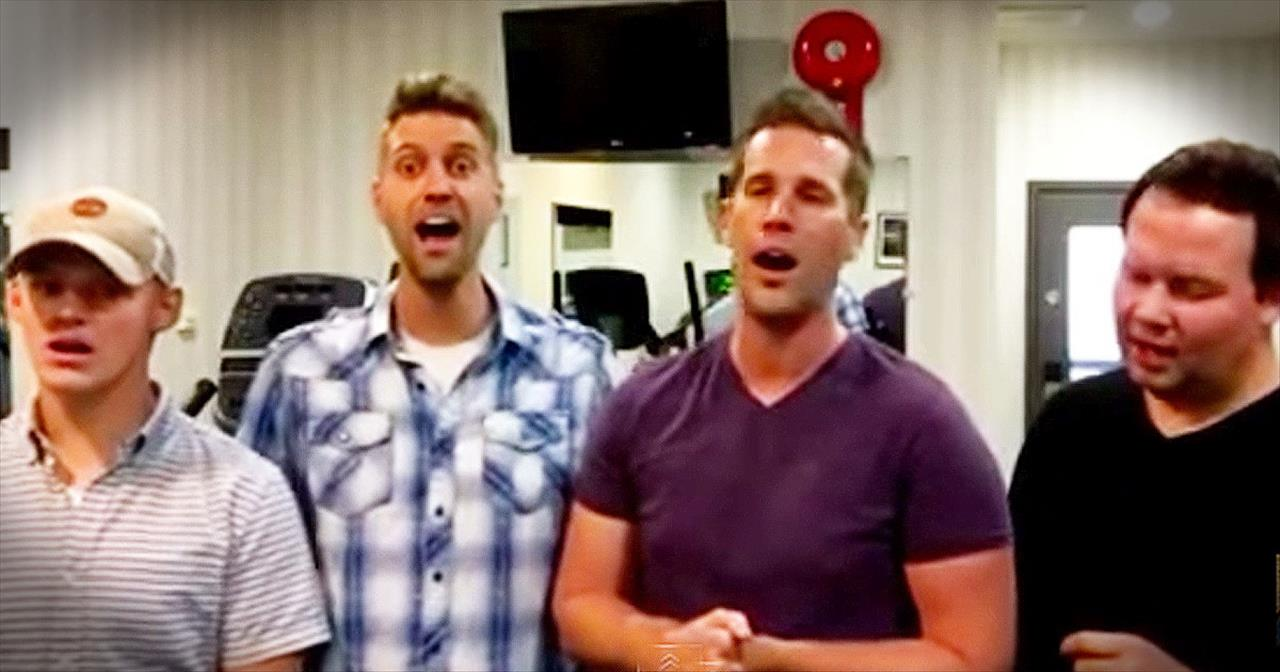 4 Men Sing Heavenly A Cappella Version Of 'I Shall Know Him'