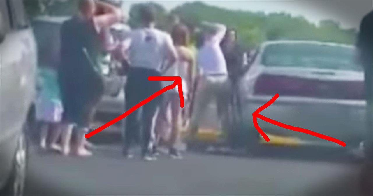 Woman Smashes Car Window To Save Trapped Baby