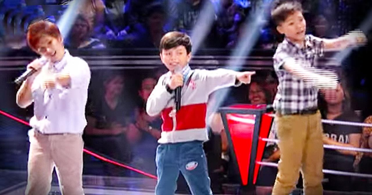 3 Boys Perform INCREDIBLE Harmonies With 'I Want You Back'