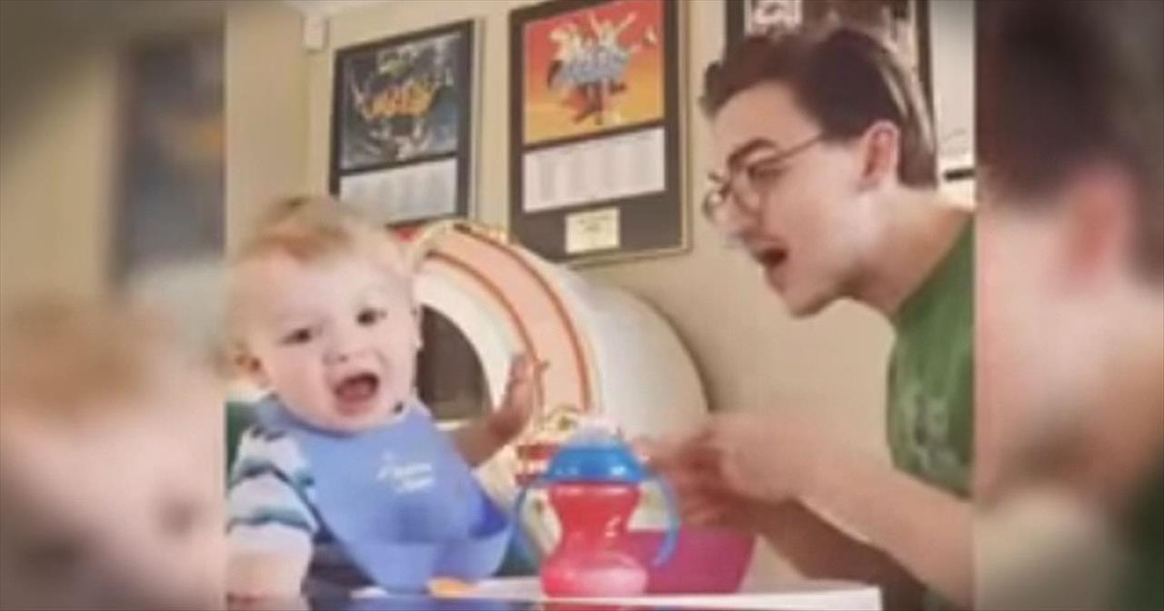 Daddy-Son Duet Will Bring You So Many Smiles!