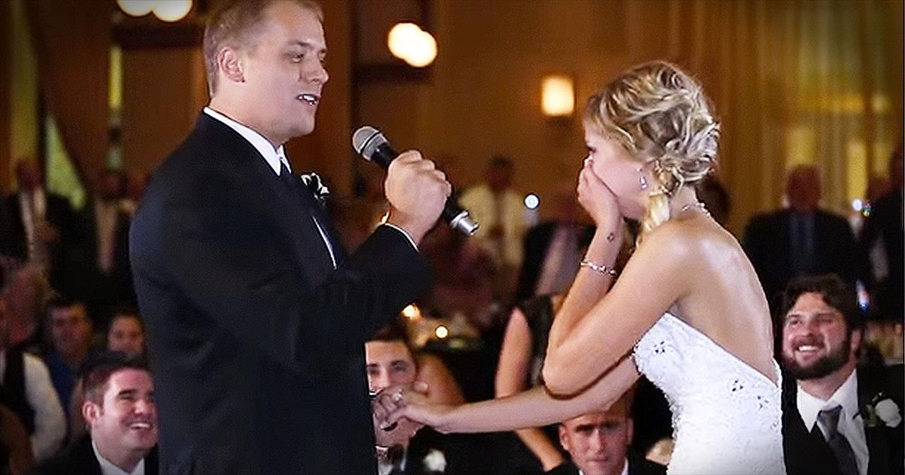 Groom Surprises Bride With Amazing Flash Mob At Reception
