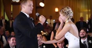 Groom Surprises Bride With Amazing Flash Mob At Reception
