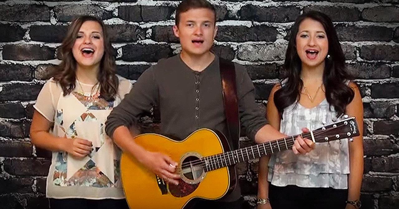3 Siblings Sing Beautiful Rendition Of 'How Great Thou Art'