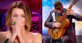 Talented Guitarist Auditions For A 2nd Time And Blows The Judges Away