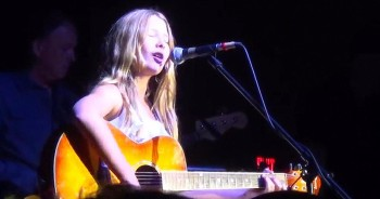 12 year old Girl sings Vince Gill's 'Go Rest High on that Mountain' with Band