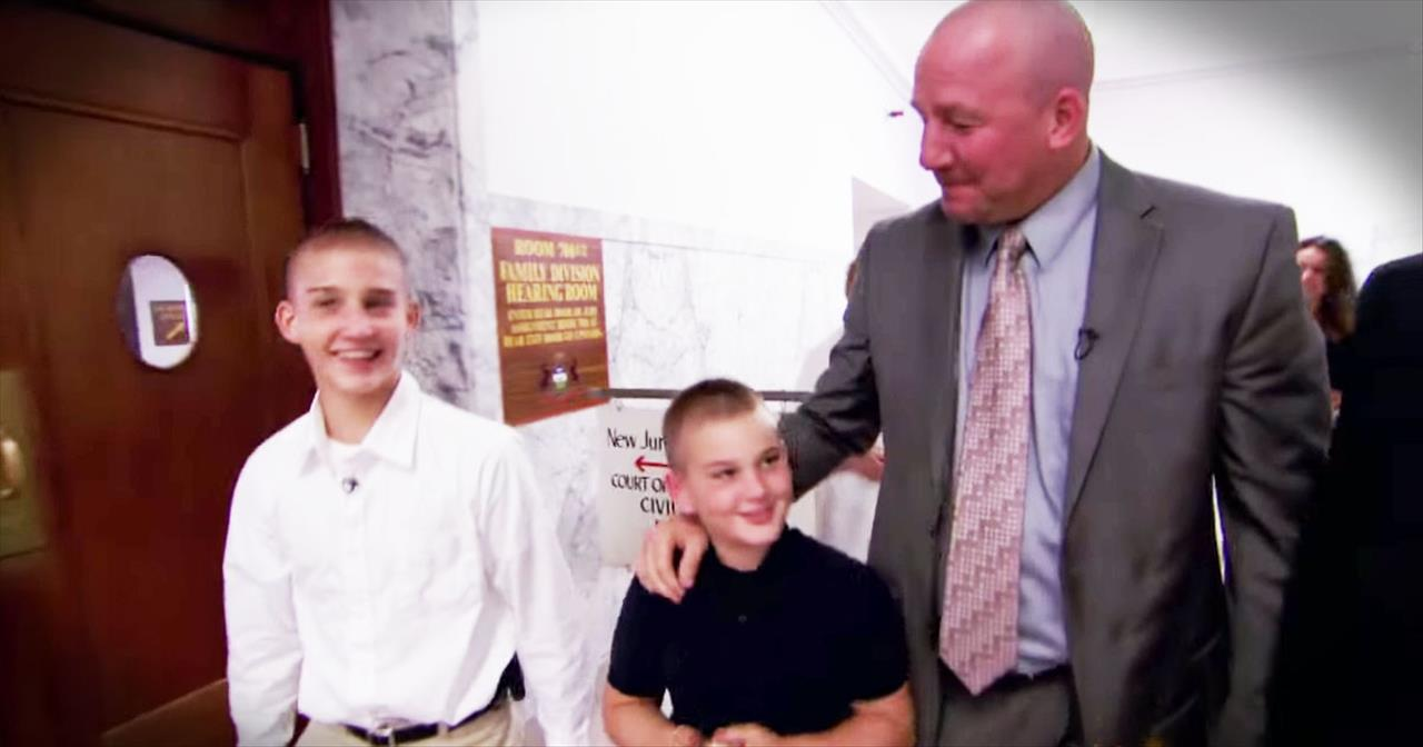 Detective Adopts 2 Brothers Out Of Abusive Foster Care