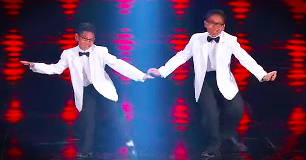 2 Dancing Brothers Leave The Judges Smiling With Talented Routine