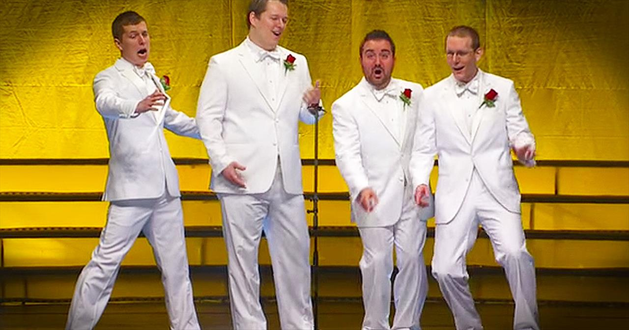You'll LOVE This A Cappella Classic Of 'Love Me Or Leave Me'