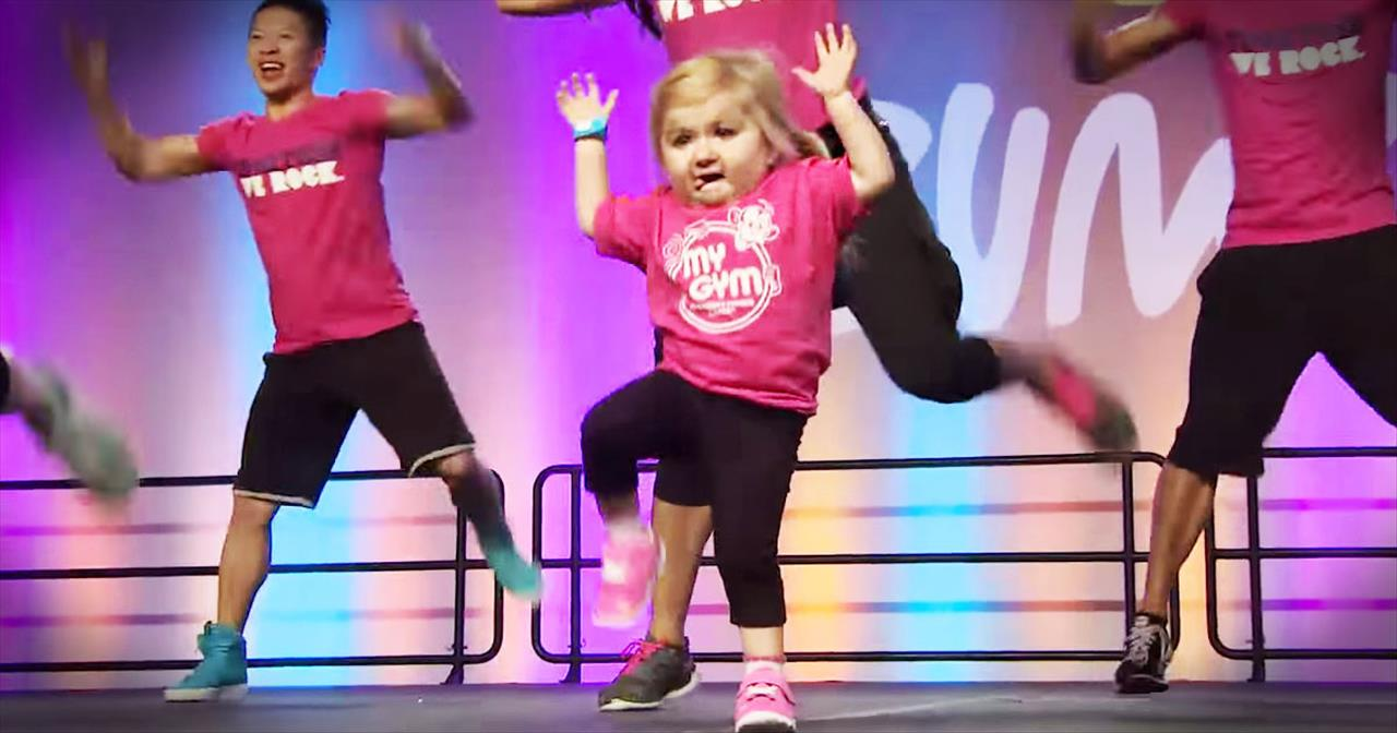 Exercise Just Got WAY Better With This Precious Instructor