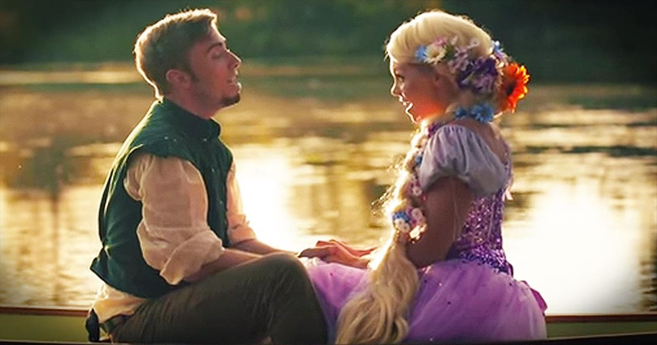 Peter Hollens And Wife Sing Magical Rendition Of This Disney Classic