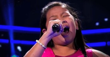 It Only Takes A Few Seconds For This Young Girl's Song To Blow You AWAY!