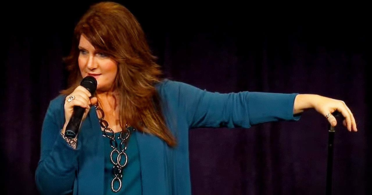 Christian Comedian Anita Renfroe Hilariously Discusses 'Fat Pants'