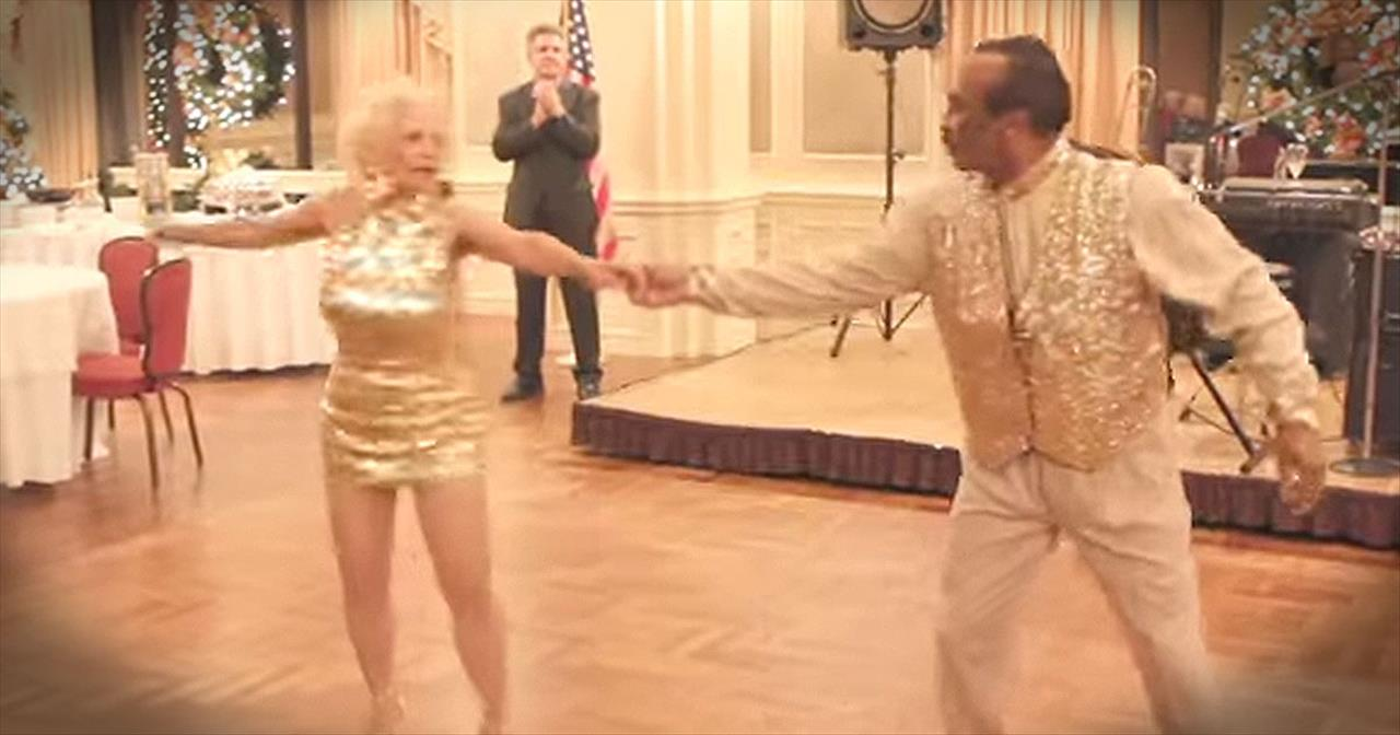 Senior Citizens Hit The Dance Floor And Stun EVERYONE!
