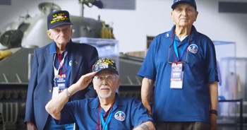 Hollywood Actor Brings The Tears When He Surprises WWII Veterans With THIS