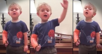 3-Year-Old's Passionate Les Miserables Performance Has The Whole World Talking
