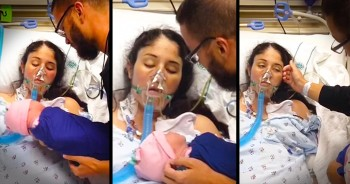 Mother Wakes From Coma To Meet Her Baby Girl
