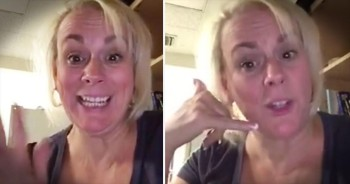 Funny Mom Knows How To Get Her Son To Call Home