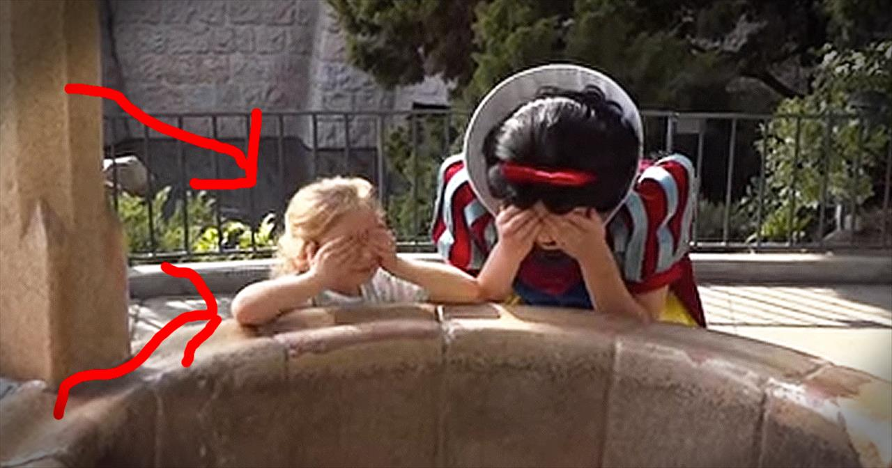 Toddler's Dream Comes True At Disneyland Wishing Well