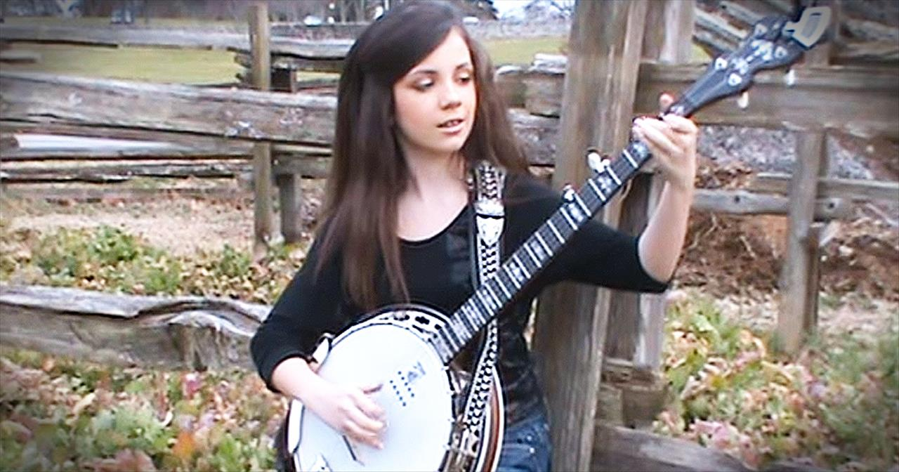 11-Year-Old Plays The Banjo Like You've NEVER Heard Before