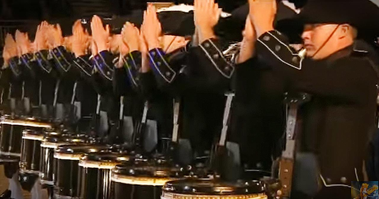 Unique Drum Corps Performance Will Leave Your Jaw On The FLOOR!