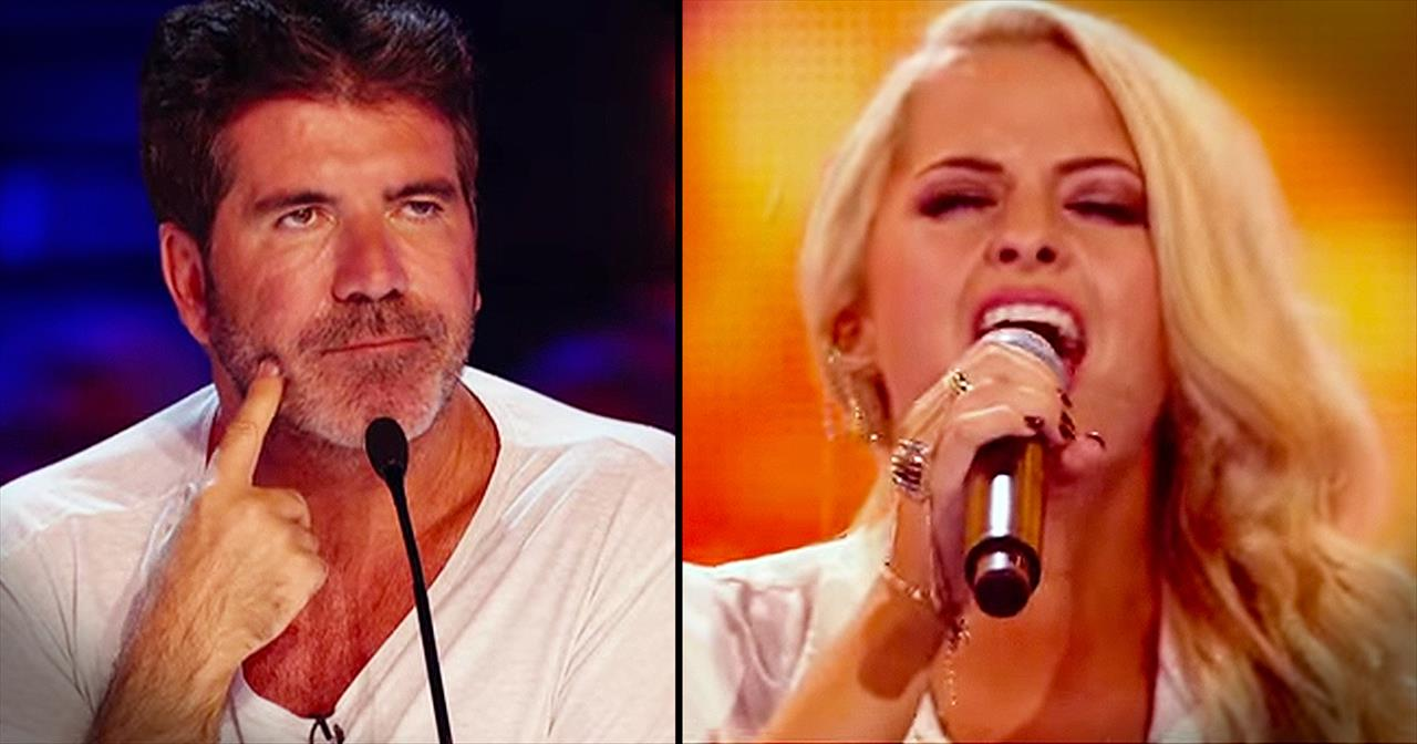 Simon Thought She Was NUTS For Singing 'Amazing Grace'…Until THIS!