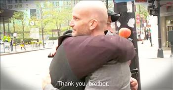 Act Of Kindness For Homeless Man Will Bring You To TEARS!