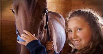 Little Girl's Faith In A Runt Horse Has Unbelievable Ending!